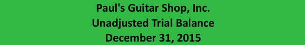 awree natcacnotus inc unadjusted trial balance The following is the company's unadjusted trial balance as at december 1, 2013  awree natcacnotus inc trial balance december.