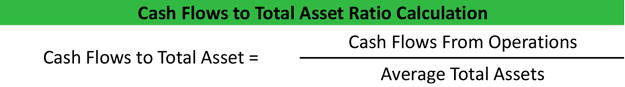 Cash Flow on Total Assets Formula Example