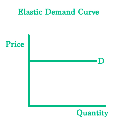 Elastic Demand Curve