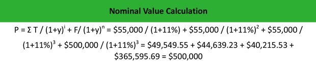 Nominal Value Example