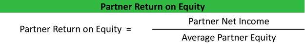 Partner Return on Equity Equation Example