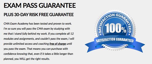 Exam Academy Pass Guarantee
