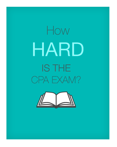 How hard is it to pass the cpa exam?
