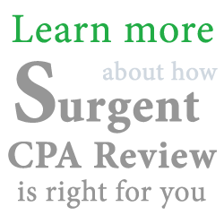 Surgent CPA Review Course Promo Code