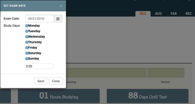 Surgent Study Planner