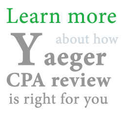 Yaeger CPA Review Course Promo Code