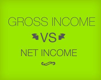 Gross Income vs. Net Income