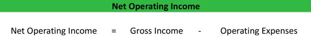 Net Operating Income