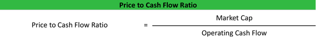 Price to Cash Flow Formula