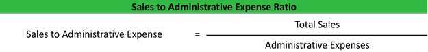 Sales to Administrative Expense Ratio
