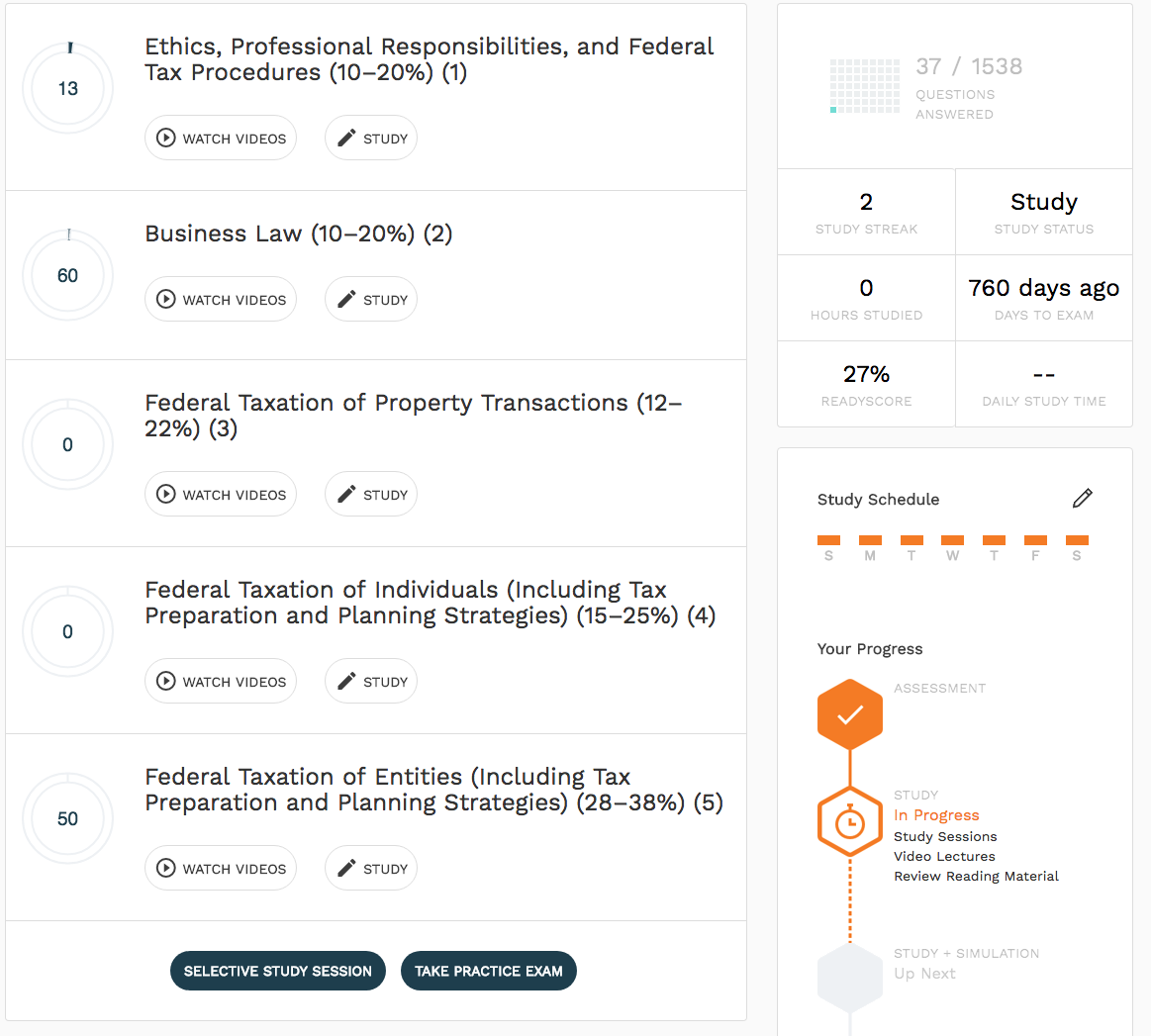 surgent-cpa-review-courses-dashboard